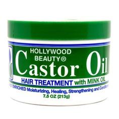 Hollywood Beauty Castor Oil With Mink