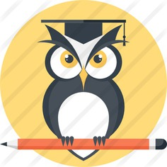 See more icon inspiration related to owl, bird, mortarboard, pencil, wild life, animal kingdom, hunter and animals on Flaticon.
