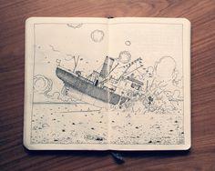 1.2 Sketchbook 2014 on Behance https://www.behance.net/gallery/17230953/12-Sketchbook-2014