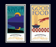 Menomonie poster left David Brier
