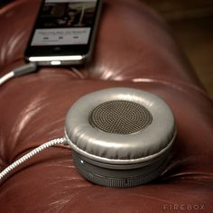 Monocle Speaker From Native Union #tech #gadget #ideas #gift #cool