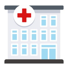 See more icon inspiration related to hospital, medical, urban, health clinic, buildings, architecture and city and architectonic on Flaticon.
