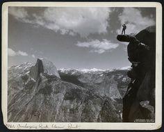 Faire le pitre à Glacier Point | La boite verte