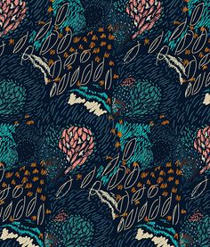 Galapagos Islands Inspired Print on Behance