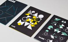 A Side Studio – MARK Product #illustration #geometric #cover #editorial
