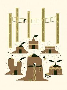 trevor-bassett-triforce-tribute-576x768.jpg (576×768) #bassett #ocarina #of #trevor #illustration #time #zelda