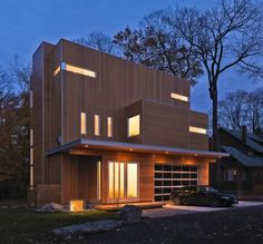 WANKEN - The Blog of Shelby White » Canadian Glass House #house #glass #wood #architecture #canadian