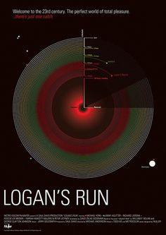 Buamai - Logan's Run — poster B #circle #morfo