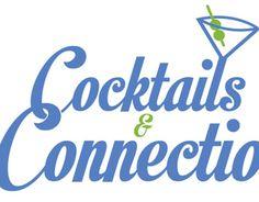 Cocktails & Connections Event Logo by Matt Hodin www.behance.net/MattHodin