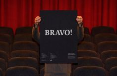Bravo! -Enserio #poster #typography