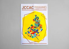 JCCAC Programme 2013 February issue #props #yellow #jccac #set #cover #art #promotion #editorial