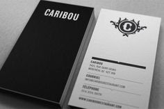 caribou Maxime Brunelle | Graphic Designer #stationary #card #identity #business