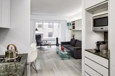 Efficient Studio Apartment by Lilian H Weinreich Architects
