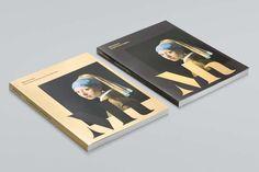 Studio Dumbar: Mauritshuis Visual Identity #branding #monogram #gold #art #logo