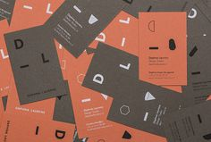 Daphna Laurens by George&Harrison #graphic design #print #business card