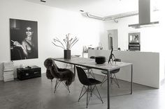 Extreme Monochrome in Copenhagen emmas designblogg #interior #design #decor #deco #decoration
