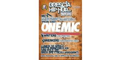 Brescia HIP HOP Event #jam #flyer #people #sound #hip-hop #music #contest