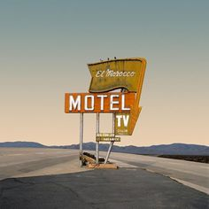 abandoned #motel #photography #road #neon