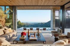 living room, Abramson Architects
