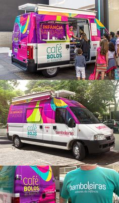 Foodtruck #young #branding #packaging #food #colorful #brasil #dish #paper #cake #foodtruck #bakery #baker #design #brand #purple #sao #logo #truck #logotype #box #megalodesign #megalo #brazil #cup #package #paulo