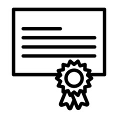 See more icon inspiration related to ribbon, agreement, files and folders, business and finance, sports and competition, arragement, degree, certification, contract, license, certificate, education, diploma, document, file and business on Flaticon.