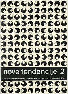 nove tendencije 2 - Ivan Picelj, 1963.