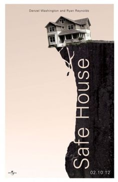 THE SUSTAINED RISE #movie #house #safe #print #design #poster