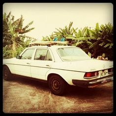 All sizes | Classic Mercedes, island style. | Flickr - Photo Sharing! #mercedes #surf