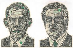The Art of the Dollar: Meticulous Currency Collages by Mark Wagner