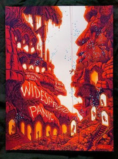 James-Flames-Widespread-Panic-Atlanta-Poster-2017