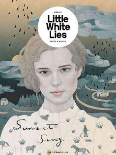 illustrations for Little White Lies