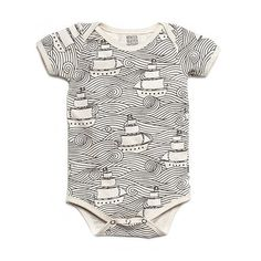 tattoo, sailor onesie #clothing #pattern #lines #sailor #sea #ship #fashion #onesie #waves #baby