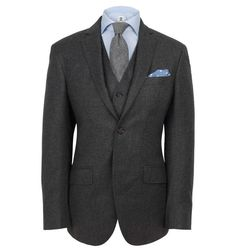 Hackett Mayfair Flannel Suit #hackett