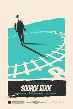 #Source #Code #Alternative #Movie #Poster