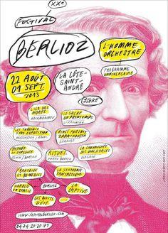Affiche de Festival Berlioz