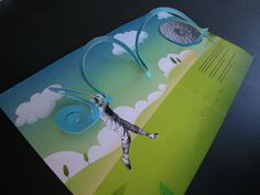Illustrations and Pop-up Book #pop #up #poster #popup #3d