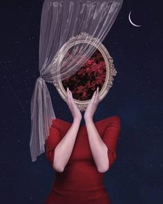 Digital Photo Collages of Dreamlike Scenes by Kamila Lenarcik