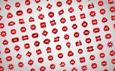 SagmeisterWalsh #branding #flexible logos #flexible #identity #sagmeister
