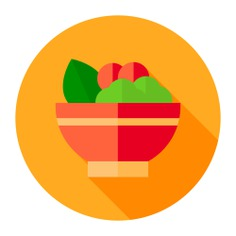 See more icon inspiration related to salad, bowl, food, food and restaurant, organic, vegan, healthy food, vegetarian and vegetables on Flaticon.
