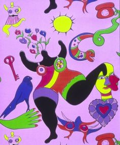 Niki-de-St-Phalle-Nana-19724.jpg 460×559 pixels #illustration #art #painting #colour #fine