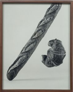 Baguette, Croissant by Elad Lassry (2008).... - Covenger & Kester #food #art