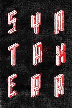 Anton Pearson #type #poster