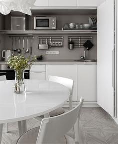 White Urban Minimalism by Greenbor - InteriorZine