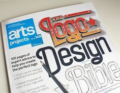 Computer Arts Projects Magazine on Typography Served #computer #design #projects #arts #logo