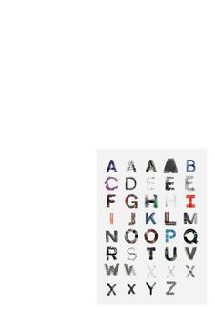 Alphabetica ArchÓ•ologica Typeface Simon Oosterdijk #photography #letters