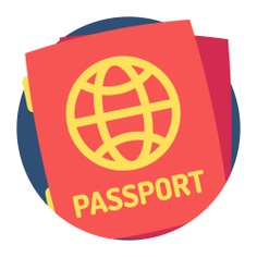 See more icon inspiration related to passport, travel, identification, identity, document and technology on Flaticon.