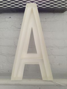 A #sculpture #paper #letter #emily good