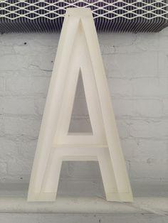 A #sculpture #letter #paper #good #emily