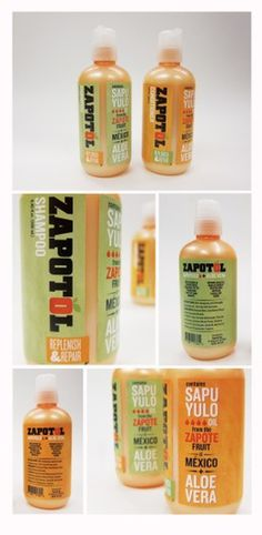 Zapatol on the Behance Network #branding #packaging #shampoo #logo #typography