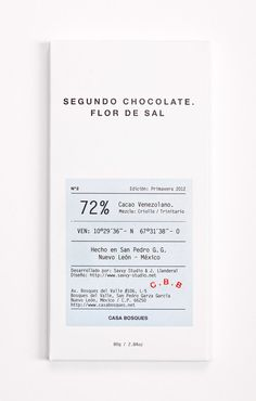 Casa Bosques Chocolates #editorial